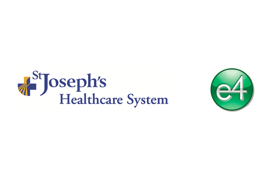 e4 Selected by St  Joseph's Healthcare System to Provide